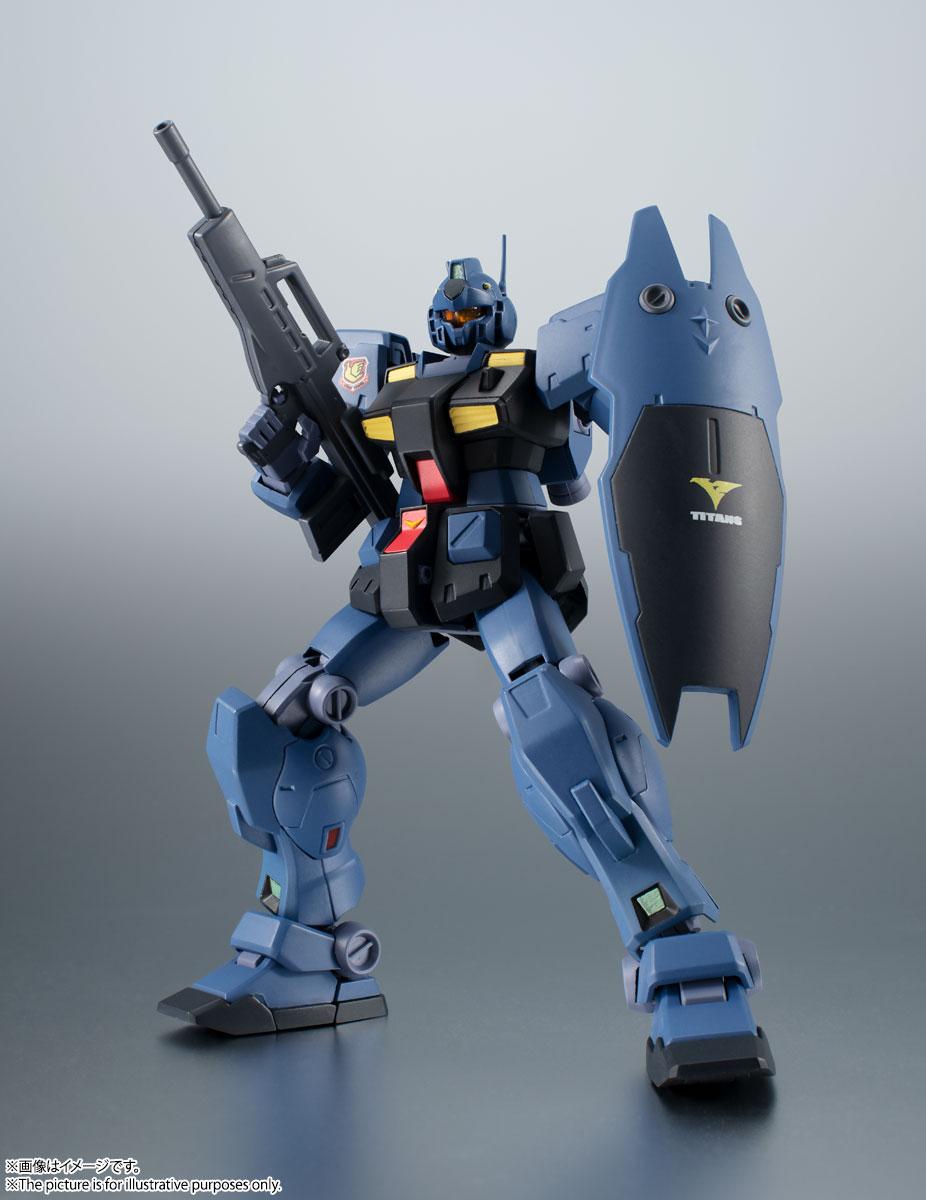 ROBOT魂〈SIDE MS〉『RGM-79Q ジム・クゥエル ver. A.N.I.M.E.』機動戦士ガンダム0083 可動フィギュア-006