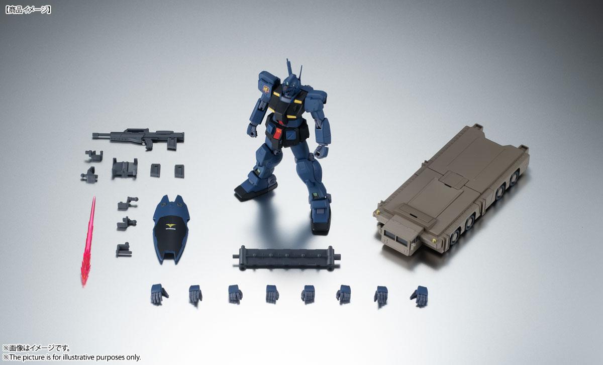 ROBOT魂〈SIDE MS〉『RGM-79Q ジム・クゥエル ver. A.N.I.M.E.』機動戦士ガンダム0083 可動フィギュア-010