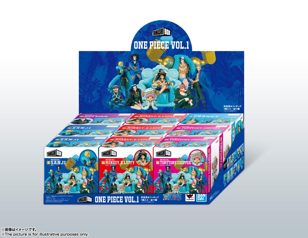 ワンピース『TAMASHII BOX ONE PIECE Vol.1』9個入りアソートBOX-007