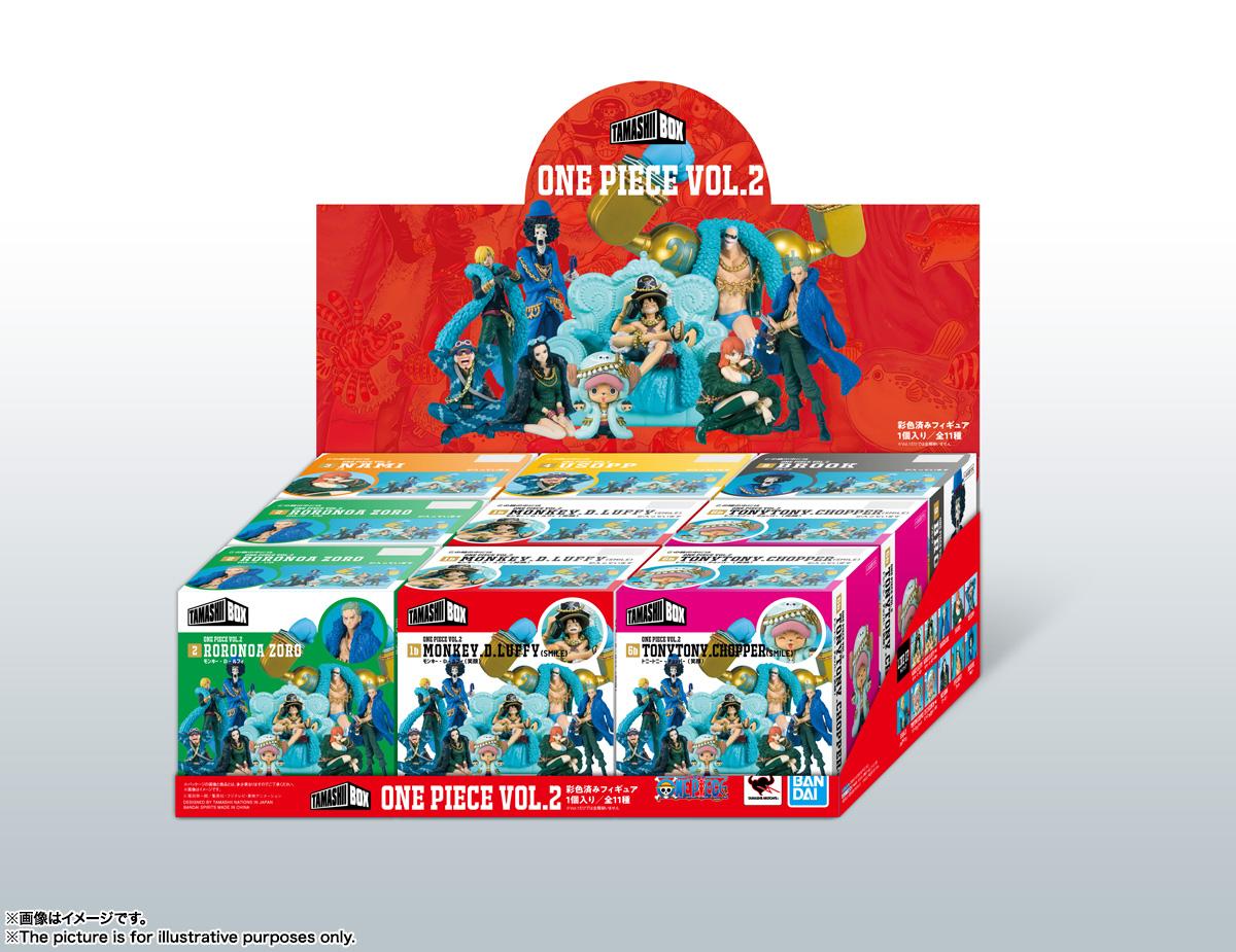 ワンピース『TAMASHII BOX ONE PIECE Vol.1』9個入りアソートBOX-014