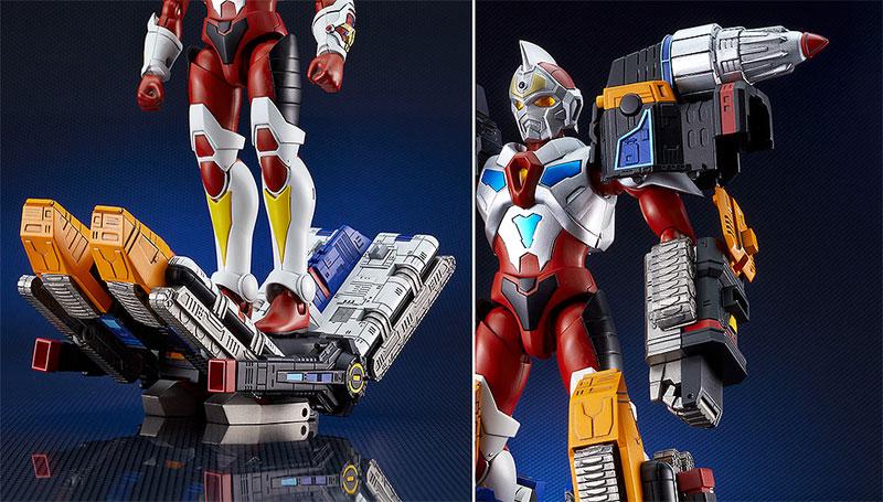 THE合体『合体超神サンダーグリッドマン - TOKUSATSU EDITION -』電光超人グリッドマン 可変合体フィギュア-006