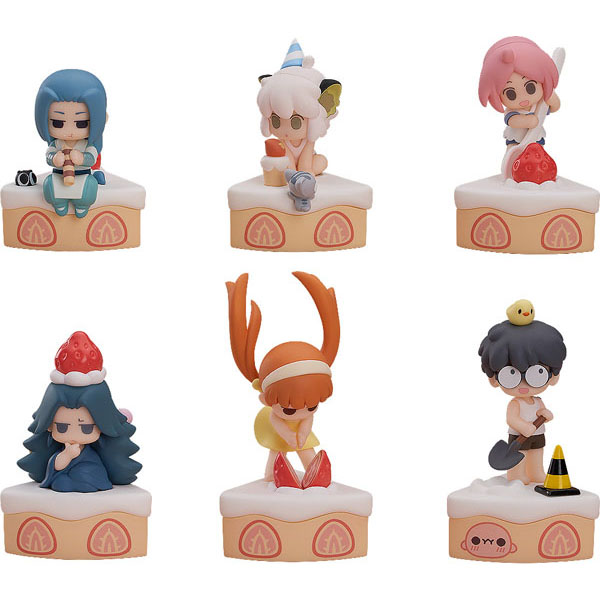 ロシャオヘイセンキ『羅小黒戦記・Happy Birthday!』トレーディングフィギュア 6個入りBOX