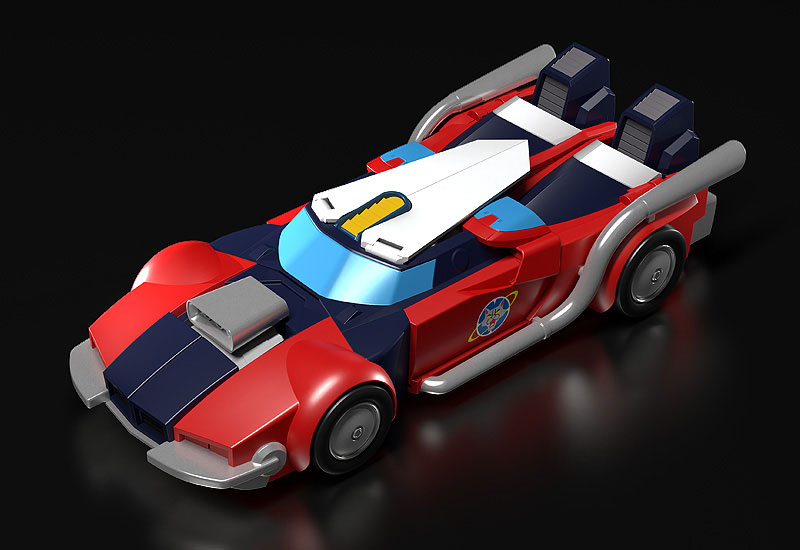 MODEROID『ブライガー』銀河旋風ブライガー プラモデル-002