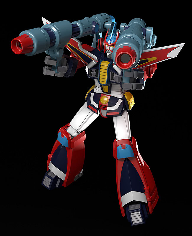 MODEROID『ブライガー』銀河旋風ブライガー プラモデル-008