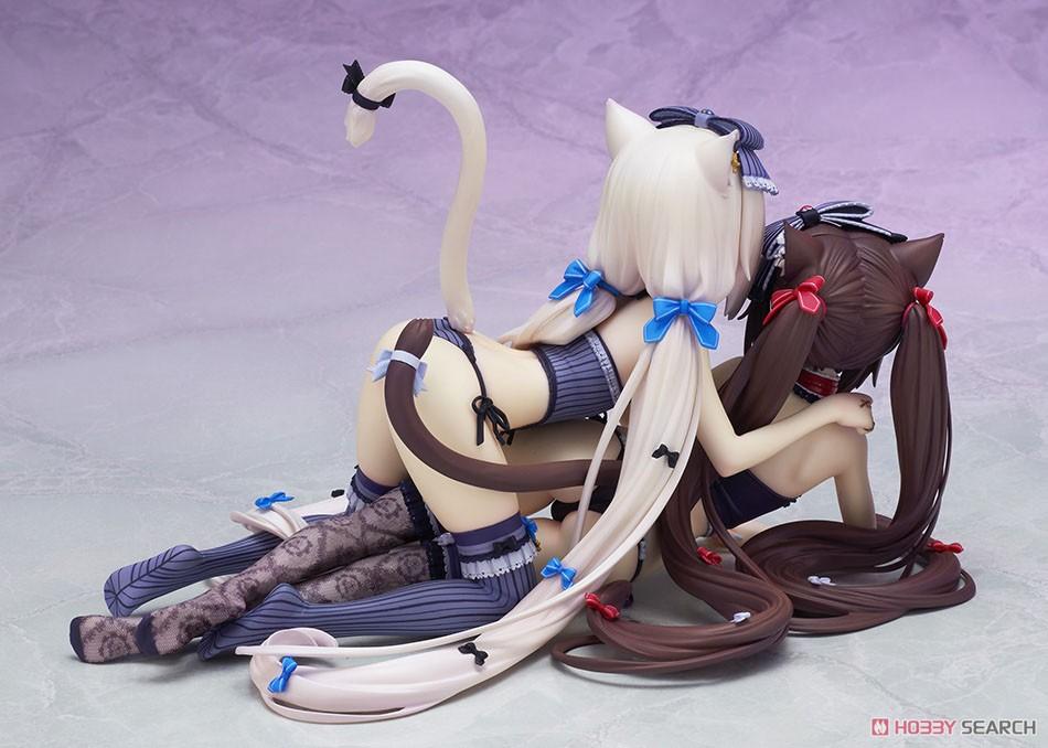 ネコぱら『ショコラ&バニラ』完成品フィギュア-006