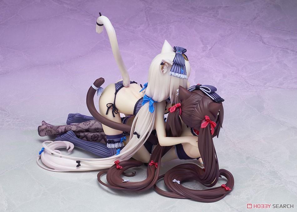 ネコぱら『ショコラ&バニラ』完成品フィギュア-008