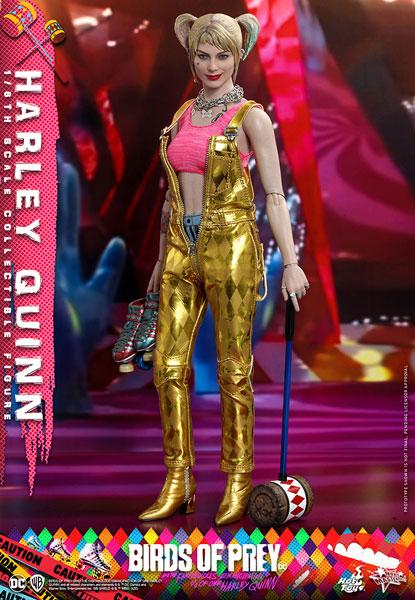 ムービー・マスターピース『ハーレイ・クイン(ゴールド・サロペット)』ハーレイ・クインの華麗なる覚醒 1/6 可動フィギュア