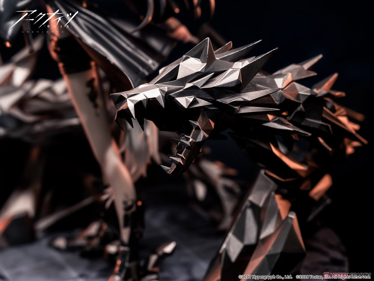 アークナイツ『ラップランド 昇進2 プレミアムVer.』1/7 完成品フィギュア-012