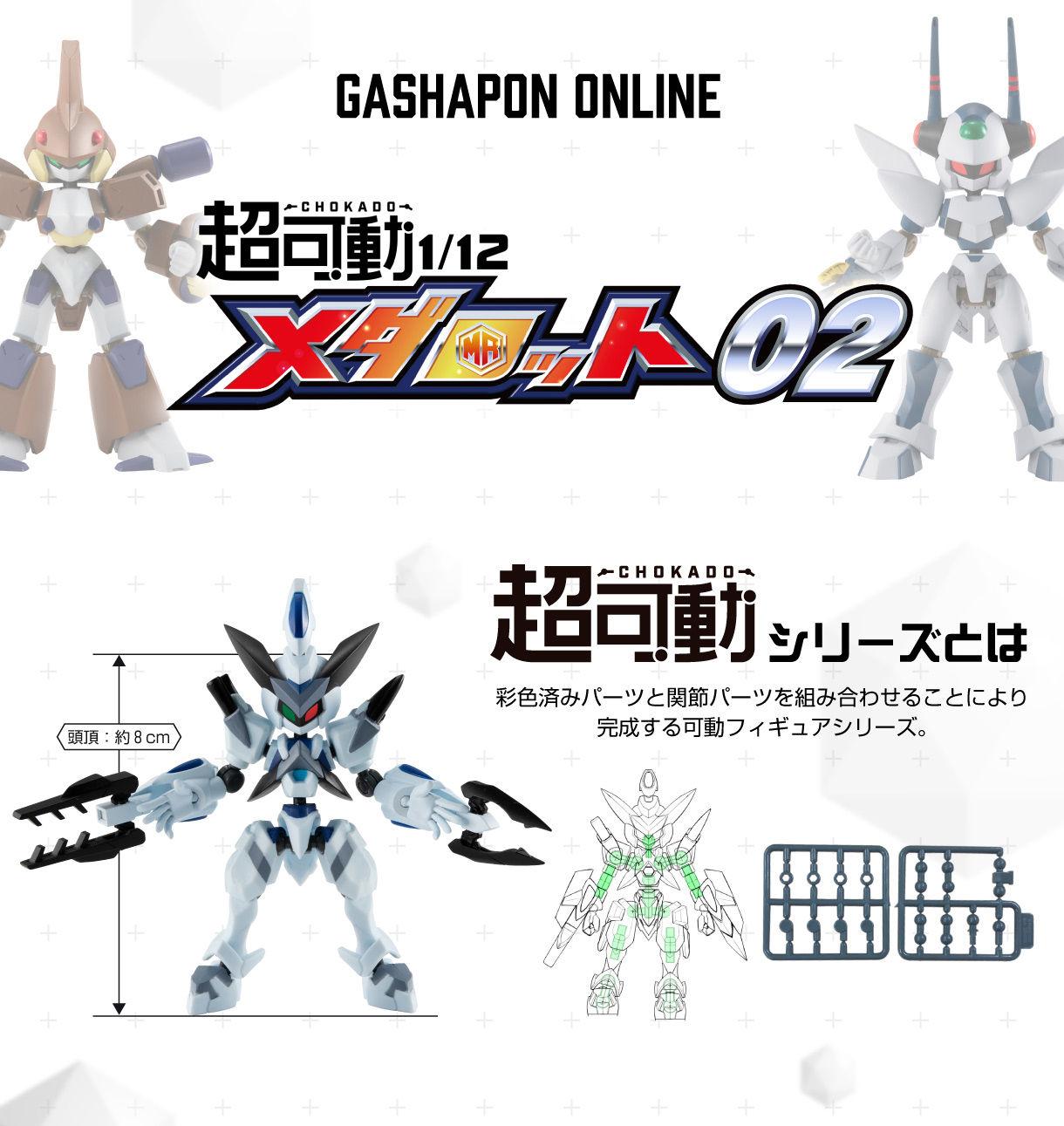 【ガシャポン】メダロット『超可動 1/12 メダロット02』可動フィギュア-001