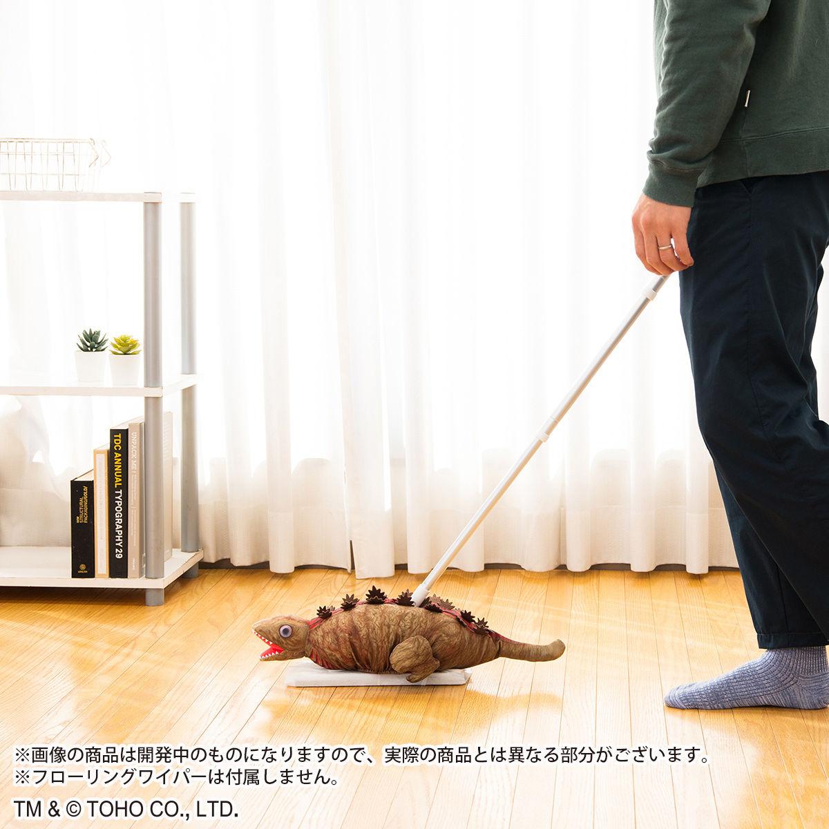 【限定販売】シン・ゴジラ『ゴジラ第2形態 フローリングワイパーカバー』グッズ-006