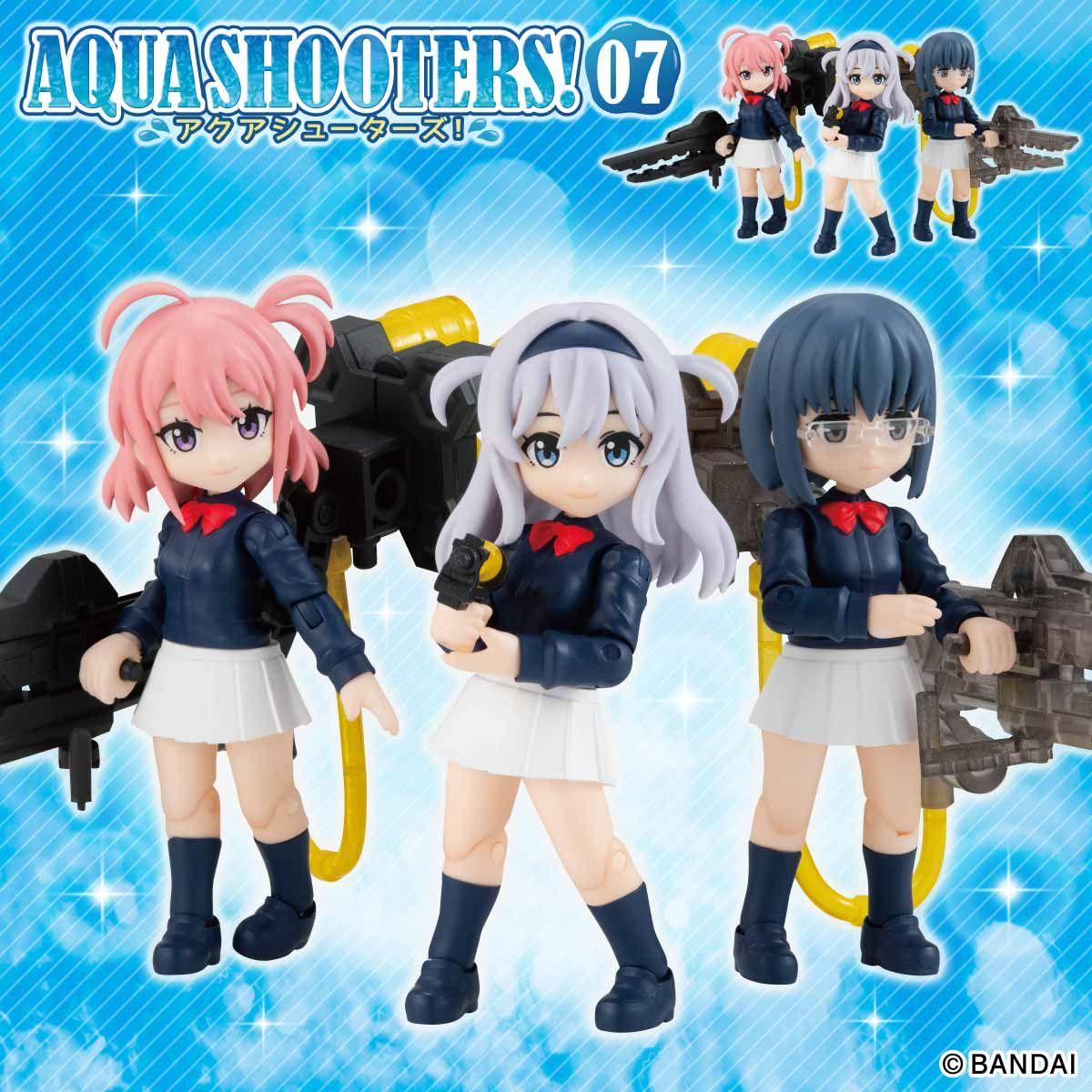 【限定販売】ガシャポン『AQUA SHOOTERS!07』10個入りBOX-001