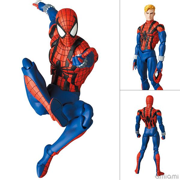 マフェックス No.143 MAFEX『スパイダーマン(ベン・ライリー)/SPIDER-MAN(BEN REILLY)COMIC Ver.』可動フィギュア
