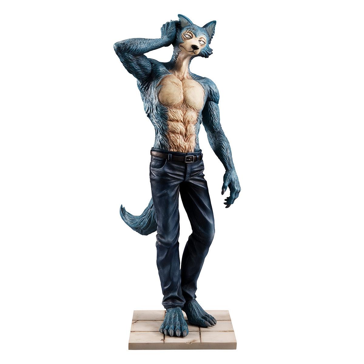 【限定販売】BEASTARS『ハイイロオオカミのレゴシ』1/8 完成品フィギュア-002
