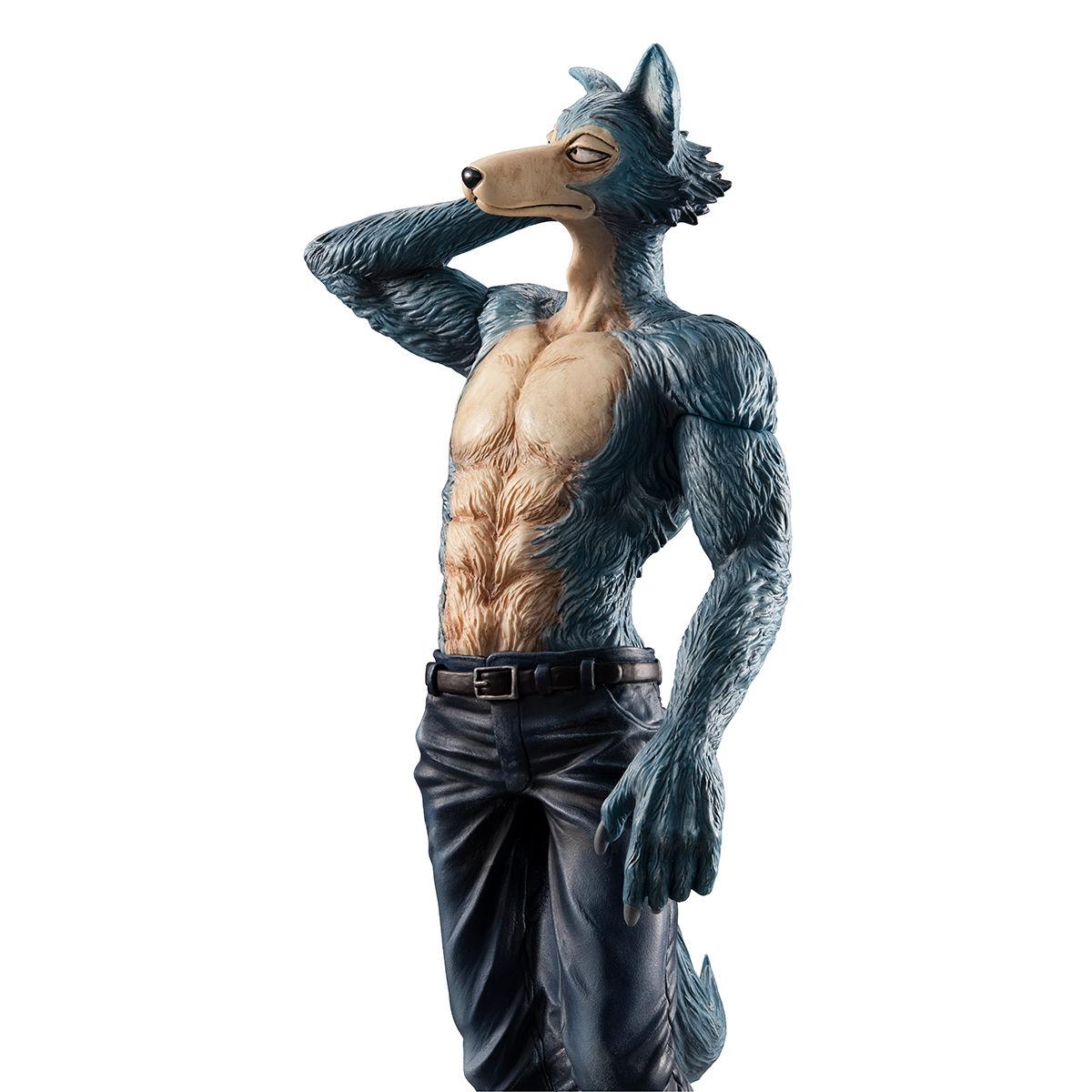 【限定販売】BEASTARS『ハイイロオオカミのレゴシ』1/8 完成品フィギュア-009