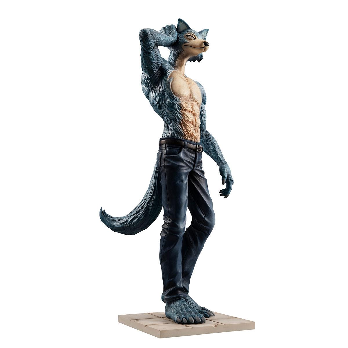 【限定販売】BEASTARS『ハイイロオオカミのレゴシ』1/8 完成品フィギュア-010
