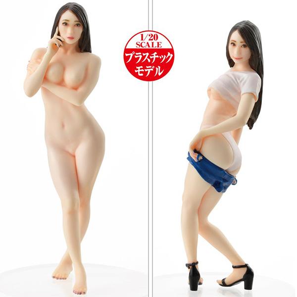 PLAMAX Naked Angel『蓮実クレア』1/20 プラモデル
