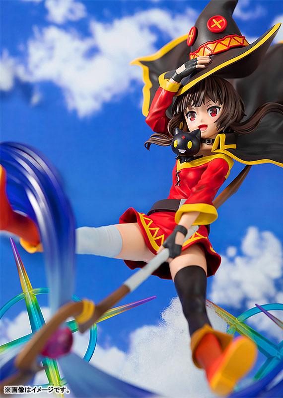 CAworks『めぐみん AnimeOpeningEdition』この素晴らしい世界に祝福を! 1/7 美少女フィギュア-009