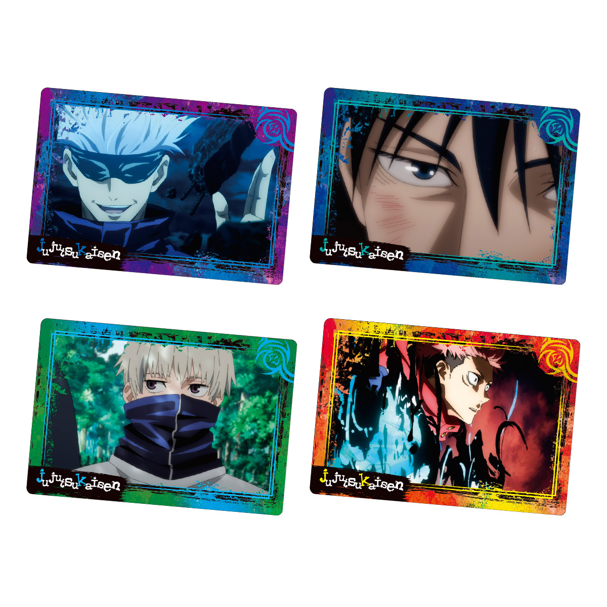 【食玩】呪術廻戦『呪術廻戦 PLAY BACKカードチョコスナック』10個入りBOX-001