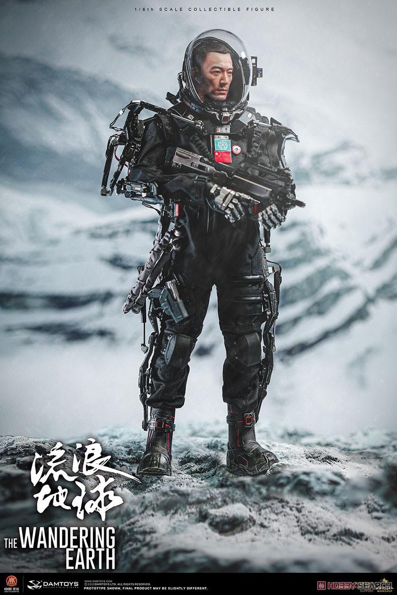 流転の地球『CN171-11救援隊 キャプテン ワン・レイ』1/6 コレクティブル可動フィギュア-001
