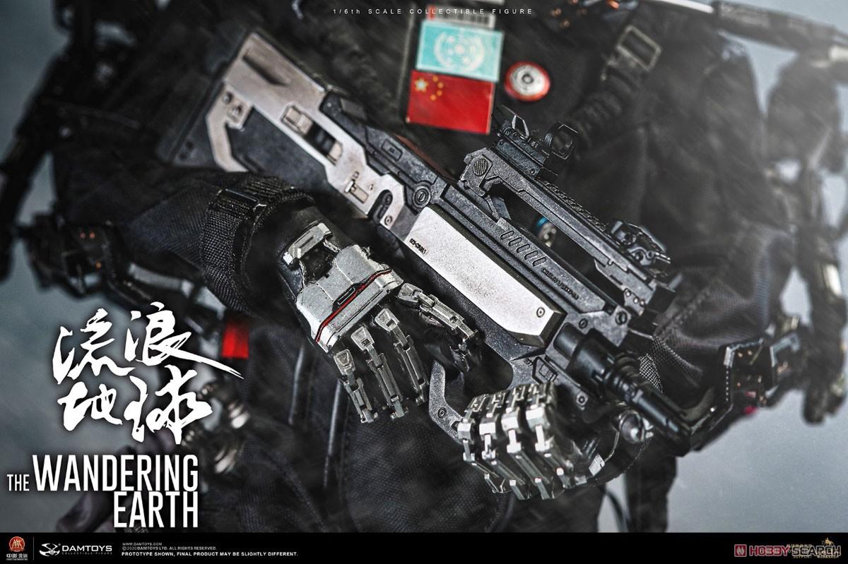 流転の地球『CN171-11救援隊 キャプテン ワン・レイ』1/6 コレクティブル可動フィギュア-003