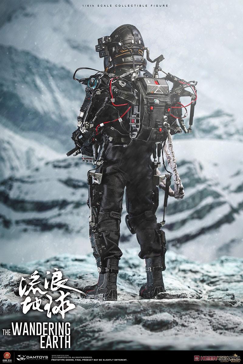 流転の地球『CN171-11救援隊 キャプテン ワン・レイ』1/6 コレクティブル可動フィギュア-016