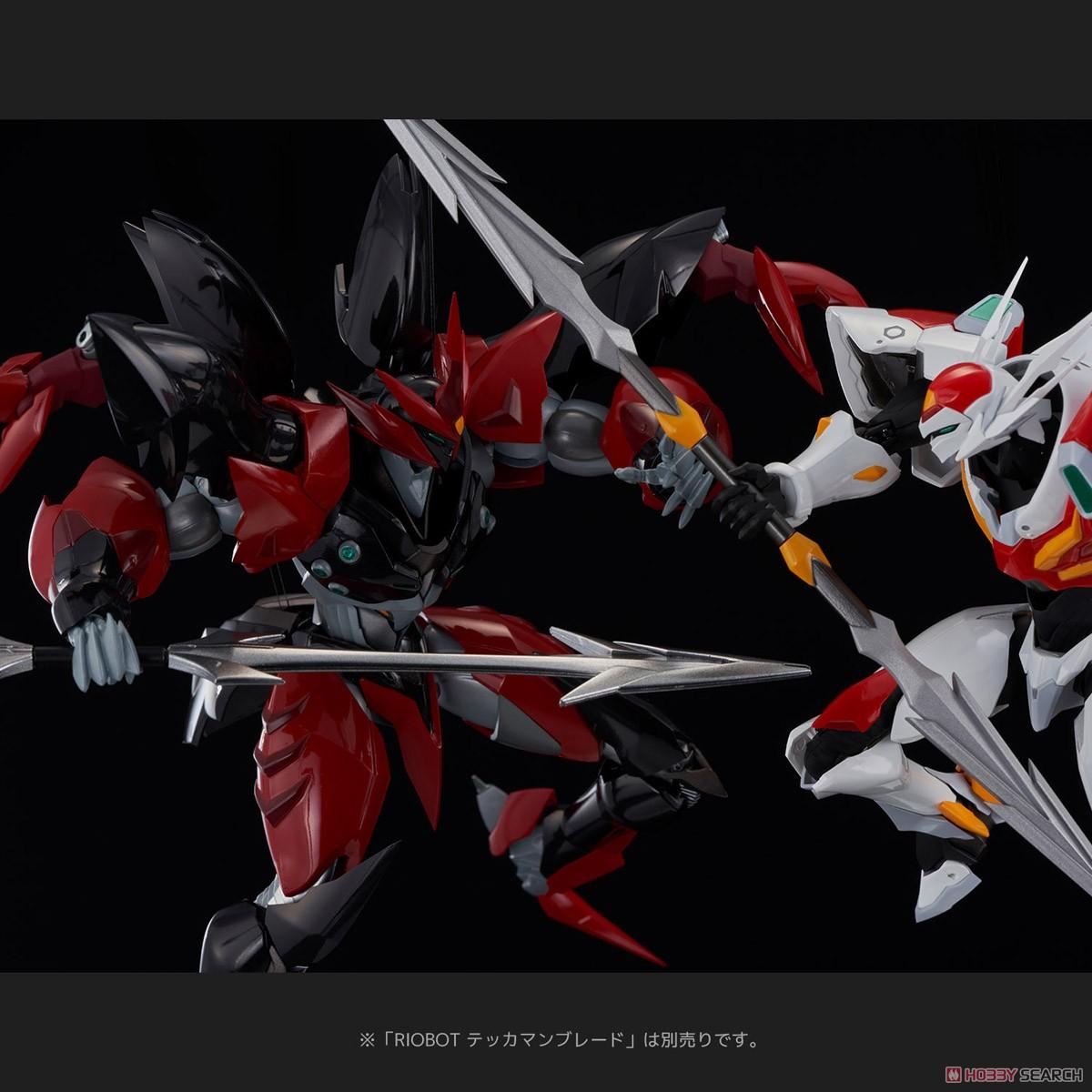 RIOBOT『テッカマンエビル』宇宙の騎士テッカマンブレード 可動フィギュア-010