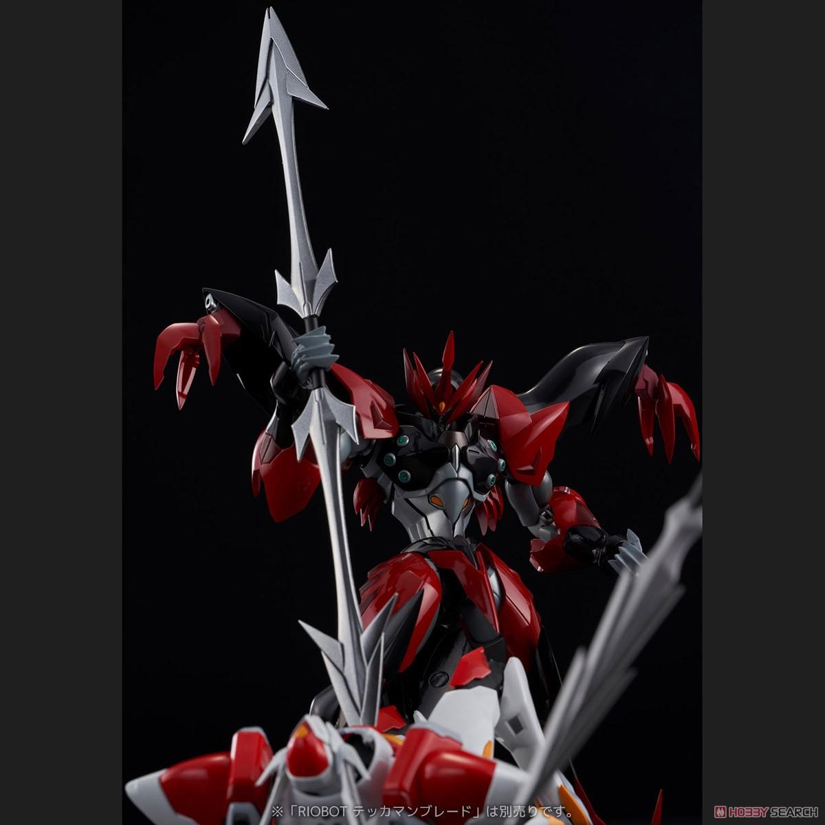 RIOBOT『テッカマンエビル』宇宙の騎士テッカマンブレード 可動フィギュア-011