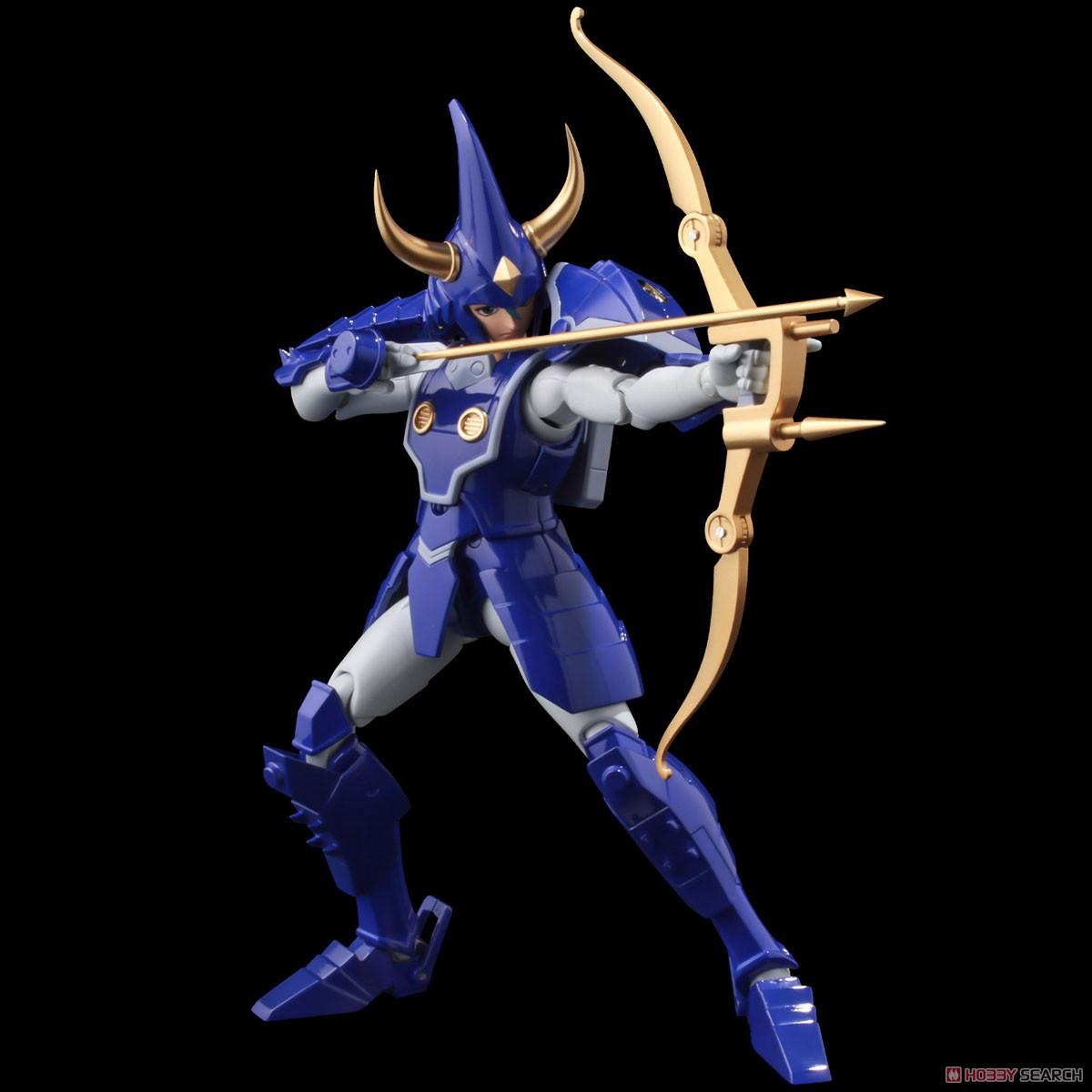 超弾可動『天空のトウマ』鎧伝サムライトルーパー 可動フィギュア-001