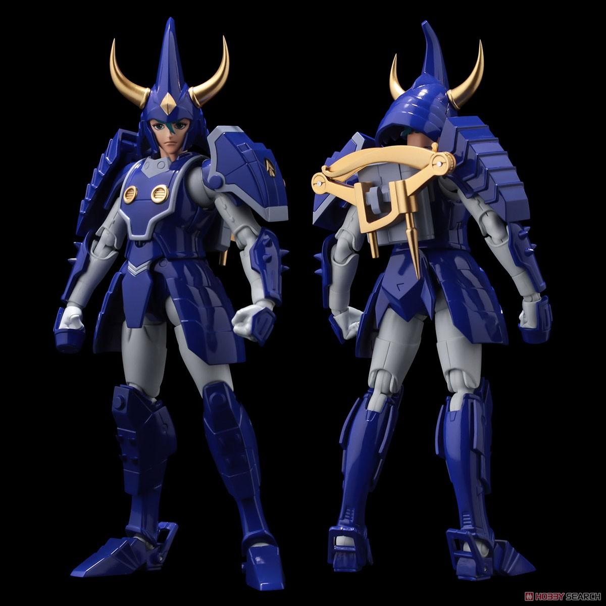 超弾可動『天空のトウマ』鎧伝サムライトルーパー 可動フィギュア-002