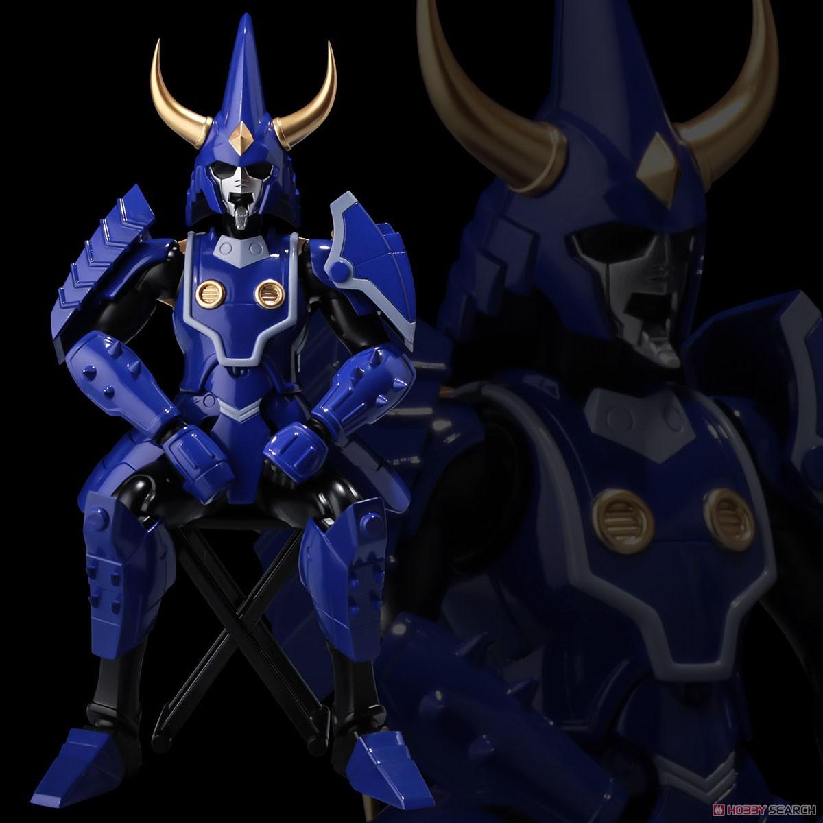超弾可動『天空のトウマ』鎧伝サムライトルーパー 可動フィギュア-004