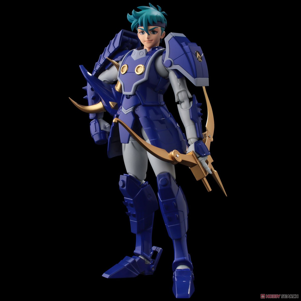 超弾可動『天空のトウマ』鎧伝サムライトルーパー 可動フィギュア-005