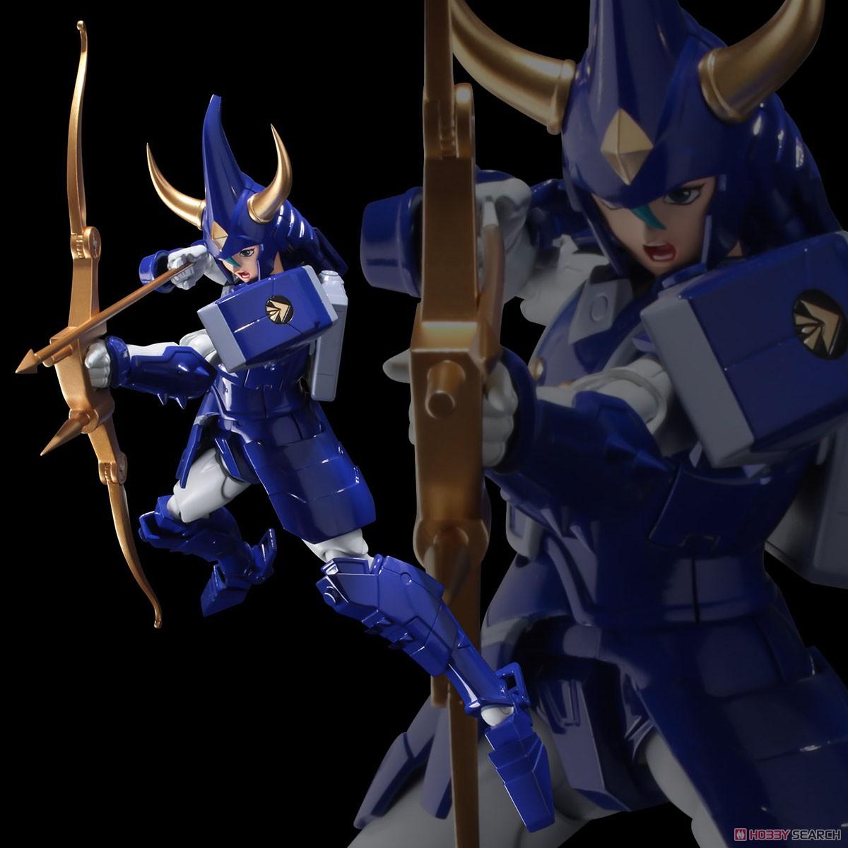 超弾可動『天空のトウマ』鎧伝サムライトルーパー 可動フィギュア-014