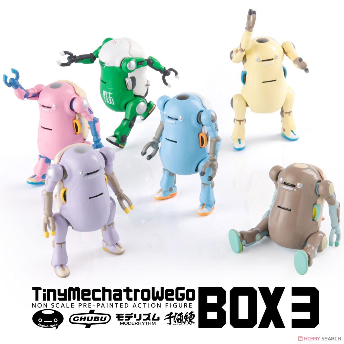メカトロウィーゴ『タイニー メカトロウィーゴ3』6個入りBOX-001