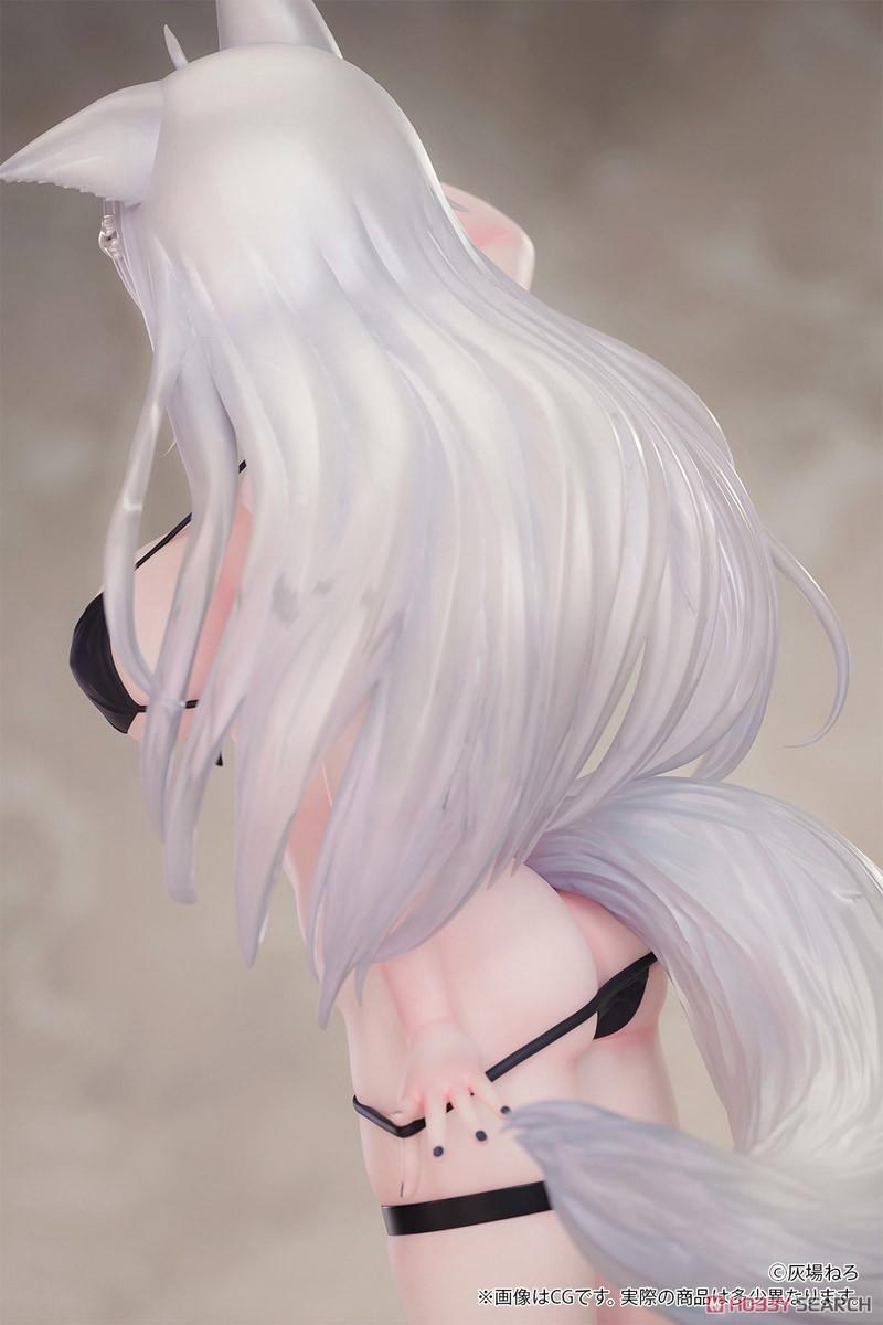 ケモミミ学園『玖音ユキネ illustrated by 灰場ねろ』1/7 完成品フィギュア-011