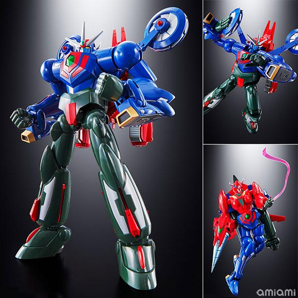 超合金魂『GX-96 ゲッターロボ號』変形合体可動フィギュア