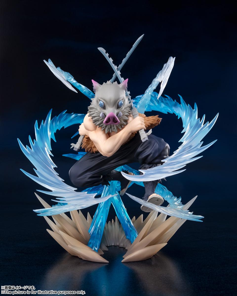 フィギュアーツZERO『嘴平伊之助 獣の呼吸』鬼滅の刃 完成品フィギュア-002