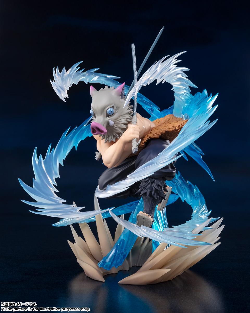 フィギュアーツZERO『嘴平伊之助 獣の呼吸』鬼滅の刃 完成品フィギュア-003
