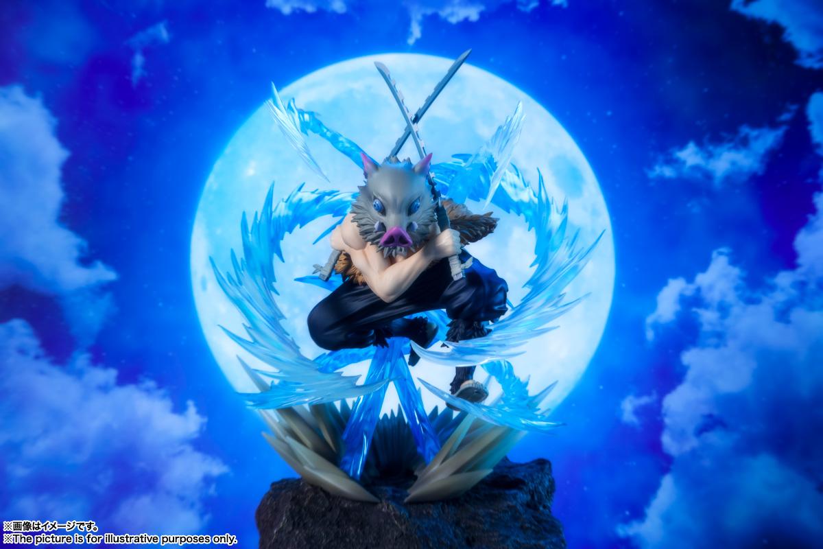 フィギュアーツZERO『嘴平伊之助 獣の呼吸』鬼滅の刃 完成品フィギュア-006