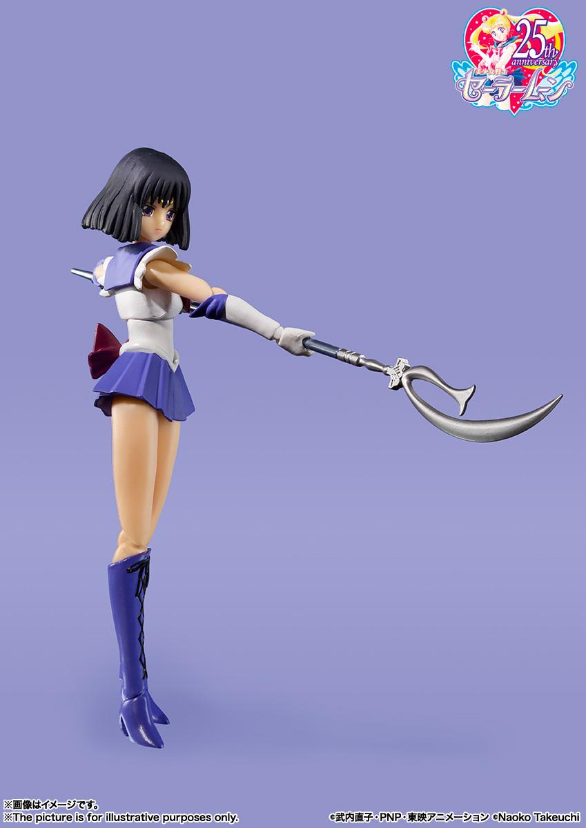 S.H.Figuarts『セーラーサターン -Animation Color Edition-』美少女戦士セーラームーンS 可動フィギュア-005