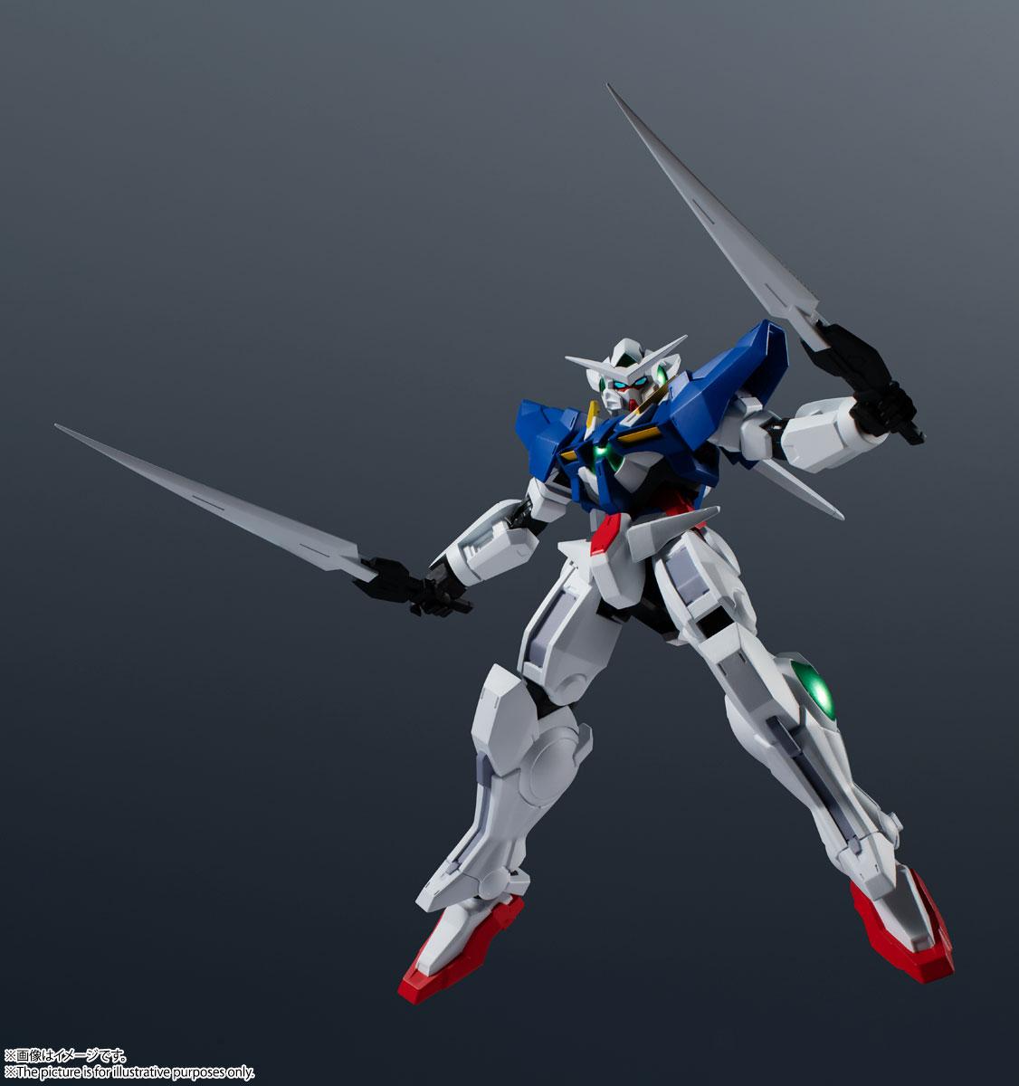 GUNDAM UNIVERSE『GN-001 GUNDAM EXIA/ガンダムエクシア』機動戦士ガンダム00 可動フィギュア-006