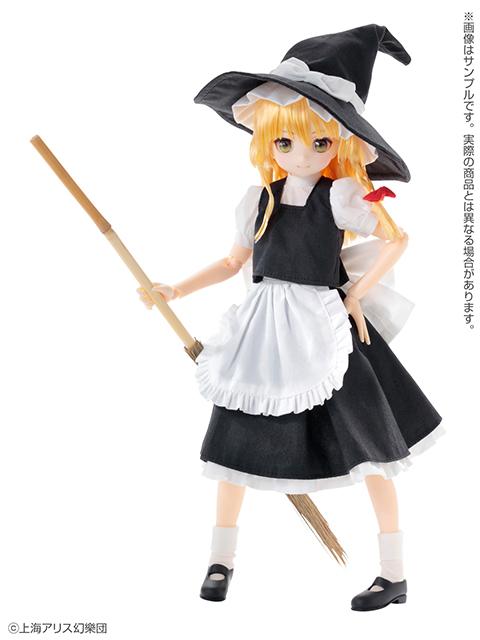 ピュアニーモ キャラクターシリーズ No.132『霧雨魔理沙』東方Project 1/6 完成品ドール-001