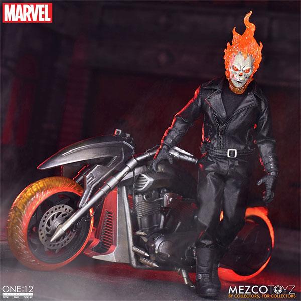 ワン12コレクティブ『ゴーストライダー with ヘルバイク』マーベルコミック 1/12 可動フィギュア