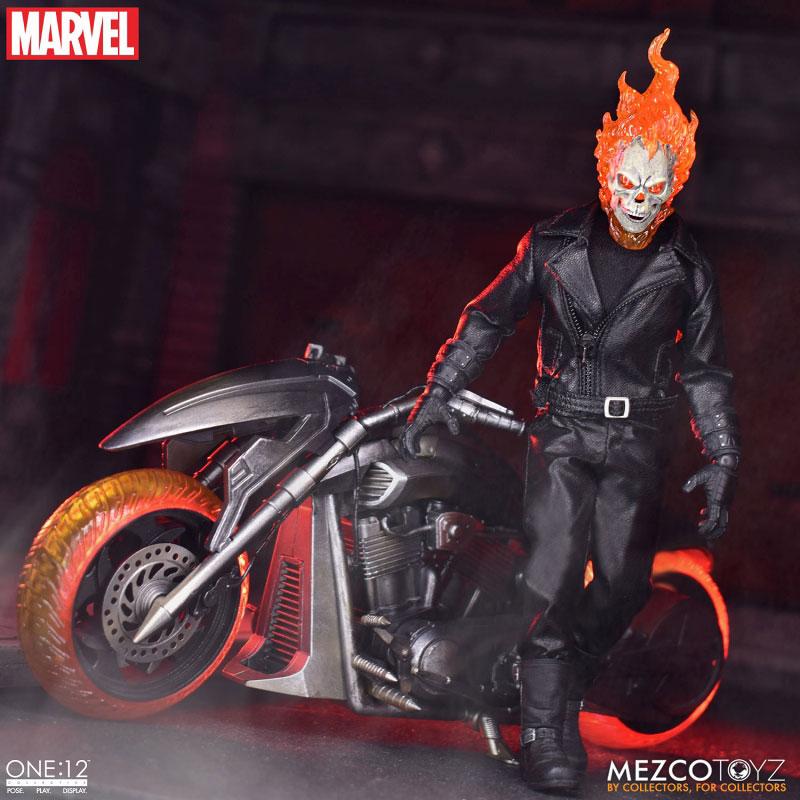 ワン12コレクティブ『ゴーストライダー with ヘルバイク』マーベルコミック 1/12 可動フィギュア-002