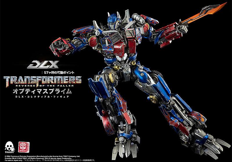 【再販】DLXシリーズ『オプティマスプライム/Optimus Prime』トランスフォーマー/リベンジ 可動フィギュア-007