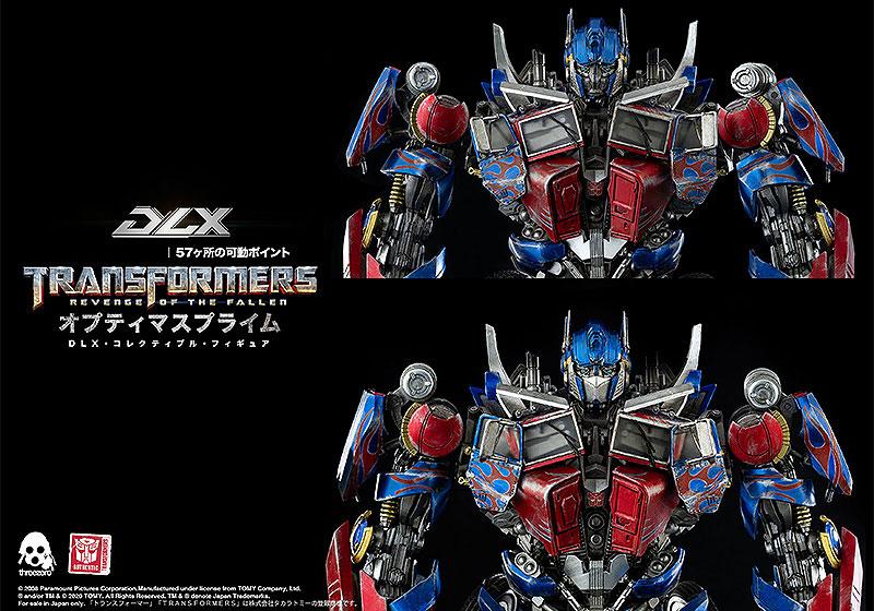 【再販】DLXシリーズ『オプティマスプライム/Optimus Prime』トランスフォーマー/リベンジ 可動フィギュア-009