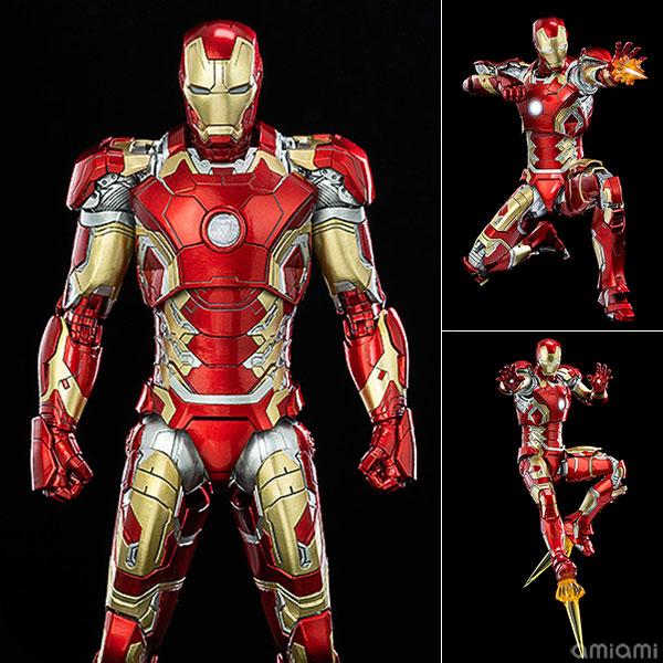インフィニティ・サーガ DLX 『Iron Man Mark 43(アイアンマン・マーク43)』Infinity Saga 1/12 可動フィギュア
