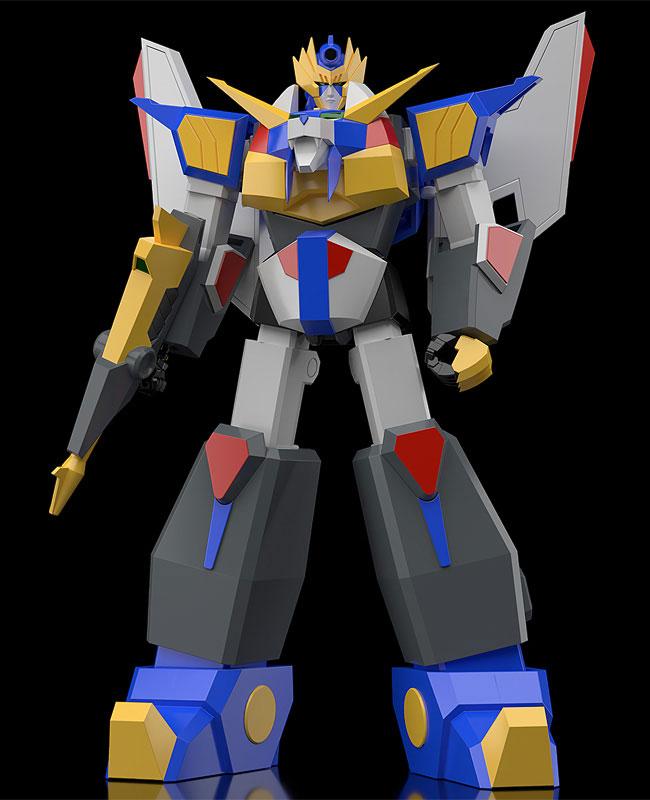 MODEROID『リボルガー』元気爆発ガンバルガー 可変プラモデル-001