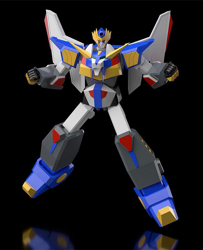 MODEROID『リボルガー』元気爆発ガンバルガー 可変プラモデル-002