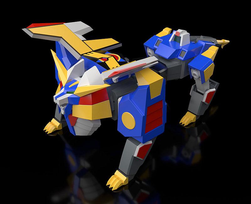 MODEROID『リボルガー』元気爆発ガンバルガー 可変プラモデル-005
