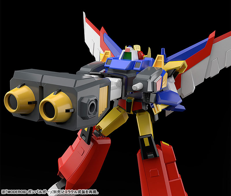 MODEROID『リボルガー』元気爆発ガンバルガー 可変プラモデル-008